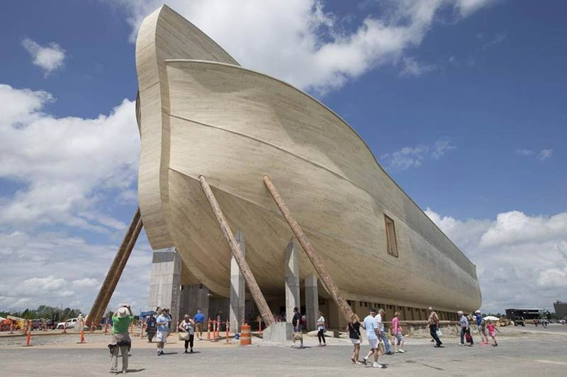 Noah's Ark theme park opens in Kentucky