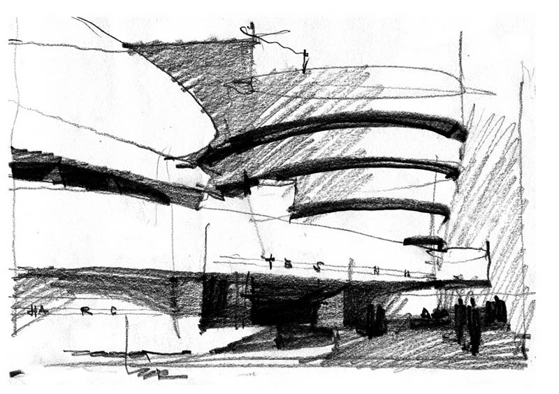 Learn the difference between the free hand drawing and for Online architecture drawing