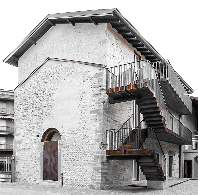 Former Monastery of San Giuliano, Bonate Sotto / CN10 Architects