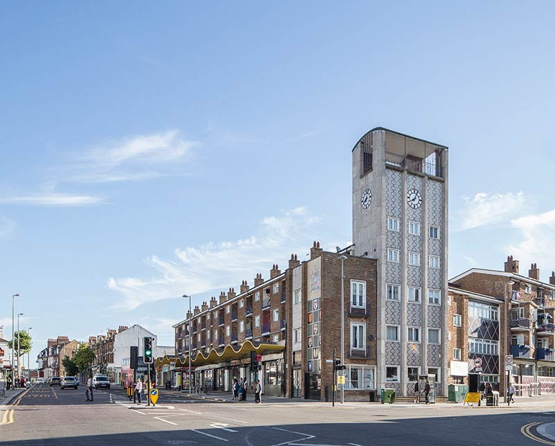 Gort Scott completes London's Walthamstow Central Parade