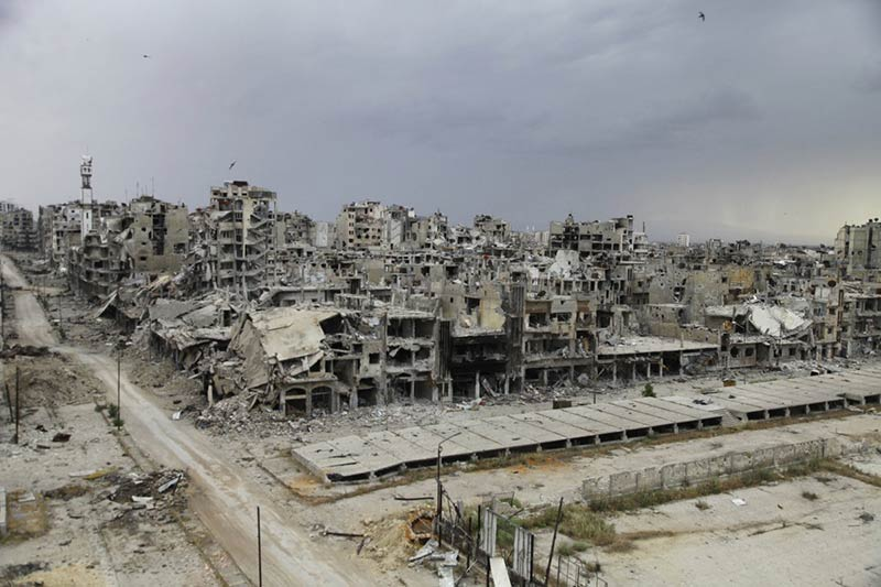 Hope in the Ruins of Homs: Architecture and the Syrian Civil War