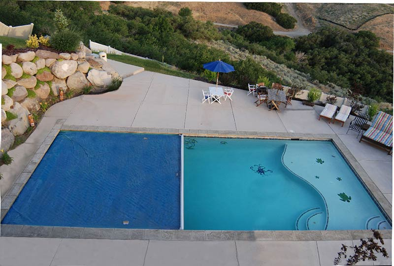 Tips and tricks on the modern mansion`s pool landscaping today