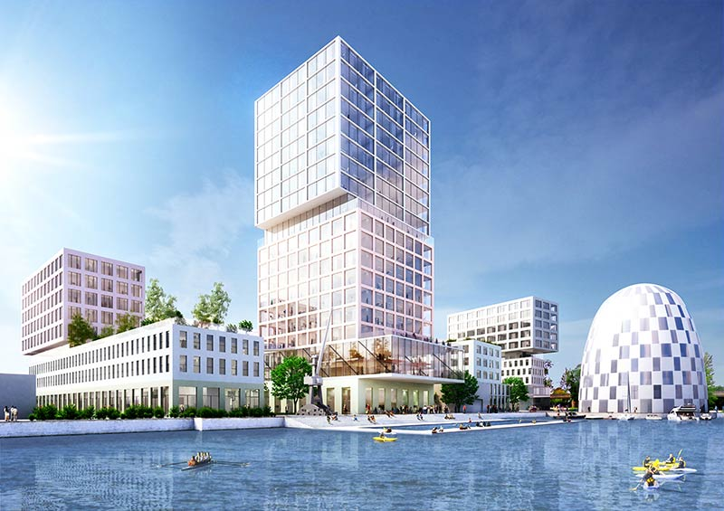 MVRDV to design Hamburg Innovation Port
