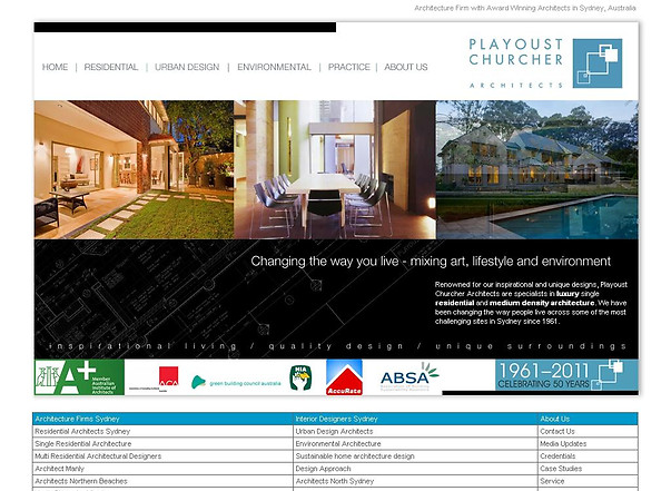 Award-winning architectural designs by Playoust Churcher