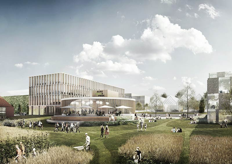 GXN & William Mcdonough + Partners unveil vision for  'silicon valley' of agriculture in Denmark