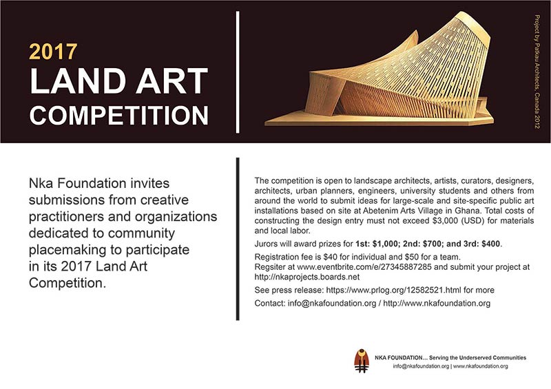 Call for Submission - 2017 Land Art Competition