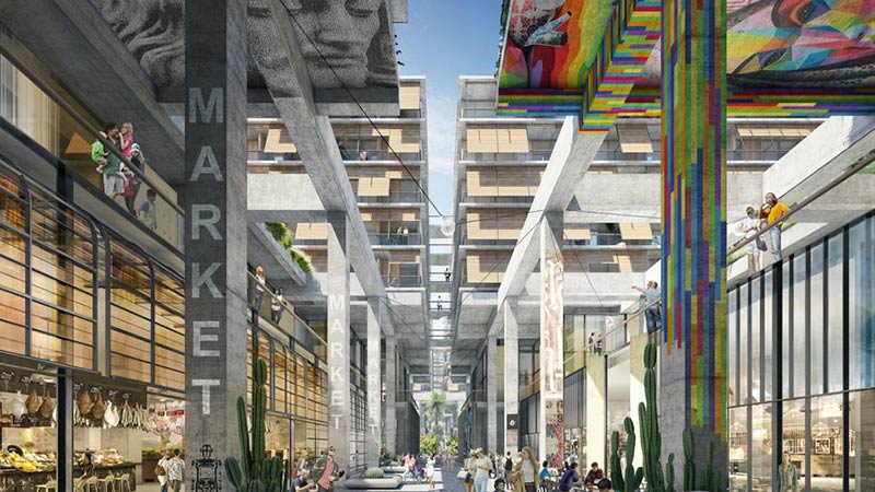 How the first skyscrapers proposed for L.A.'s Arts District will change the neighborhood