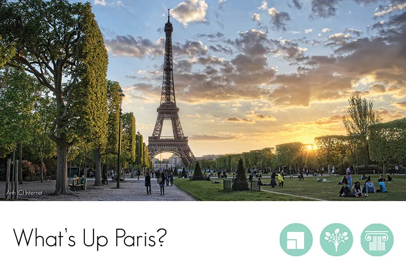 Call for Submission - What's Up Paris?