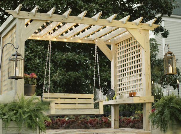 Short Introduction To Outdoor Wooden Structures U2013 The Pergola And Sister  Structures