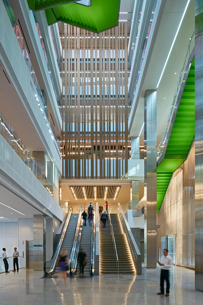 Arney Fender Katsalidis completes Deloitte's national headquarters in Toronto