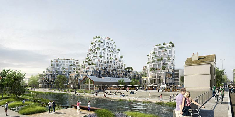 MVRDV win the competition for a new 8,200m2 residential development