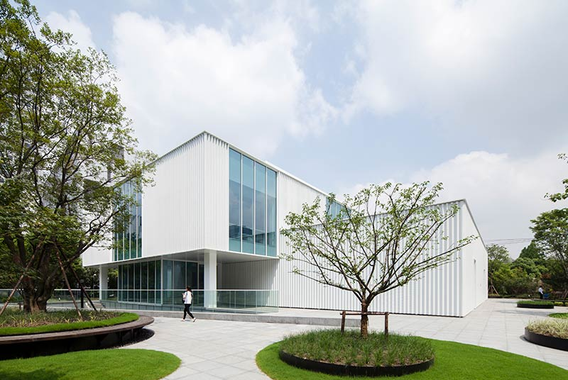Schmidt Hammer Lassen Architects completes renovation for Hi-Tech start-up incubator space in Shanghai