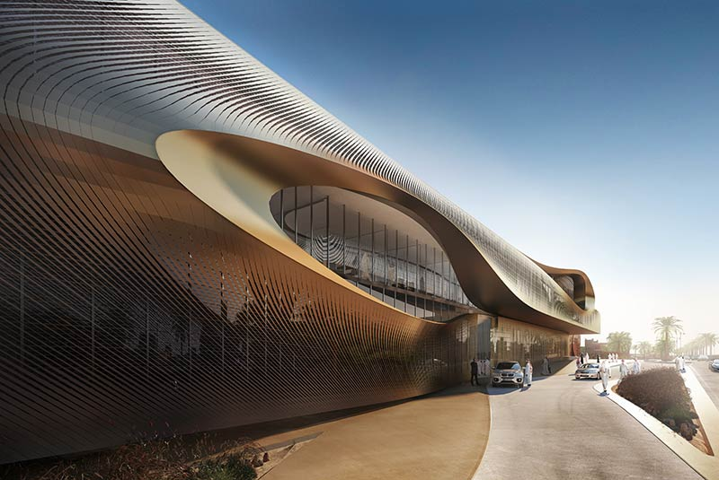 Zaha Hadid Architects to build the Urban Heritage Administration Centre in Diriyah, Saudi Arabia
