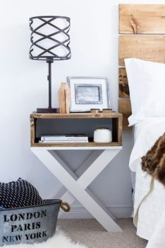 10 Brilliant DIY Nightstand Projects For Your Household
