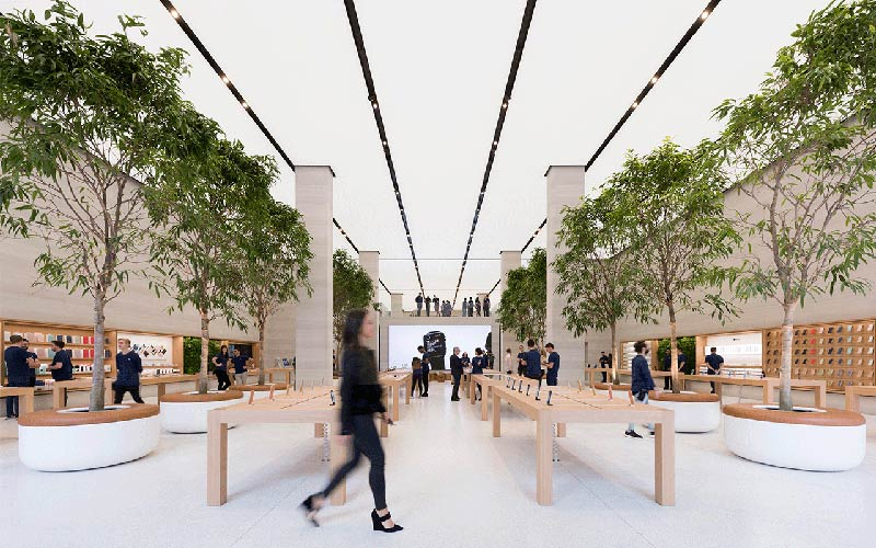 Reimagined Apple Regent Street by Foster + Partners opens in London