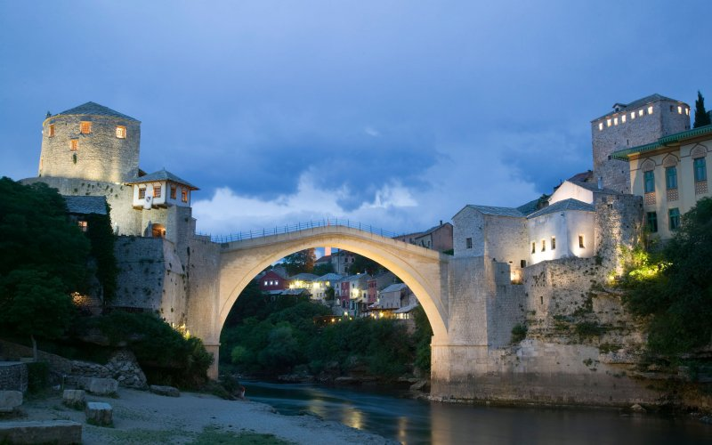 Is the rebuilt Stari the World's most beautiful bridge?