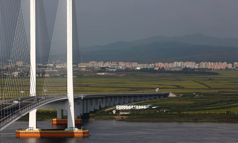 Unfinished bridge reveals broken state of North Korea's alliance with China