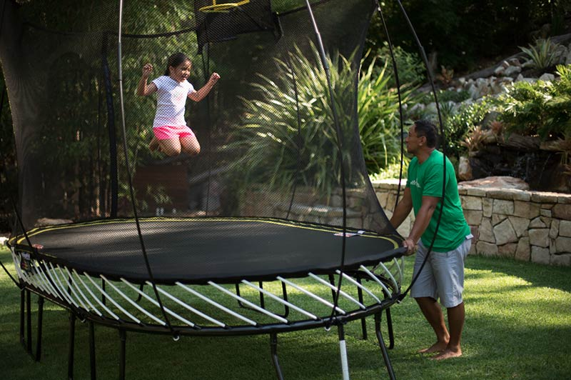 Get The World's First Smart Trampoline For Your Backyard