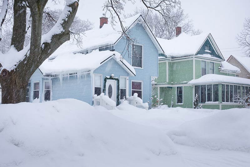 Frosty Reception - How the Ice and Snow Plays Havoc With Your Home