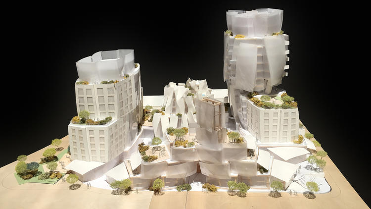 L.A. City Council approves Frank Gehry's project on the Sunset Strip