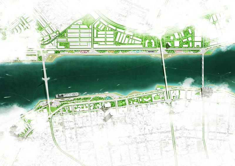 OMGEVING to design the Han Riverfront Da Nang City