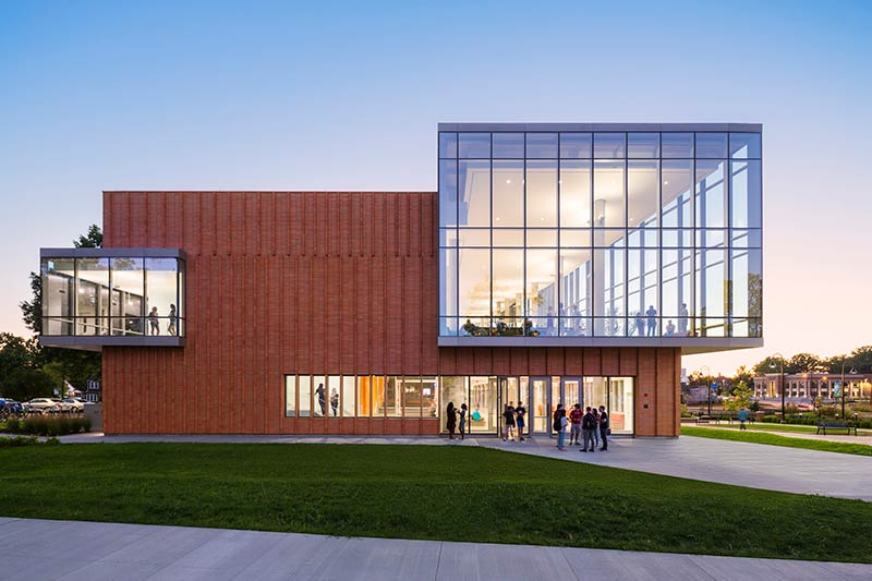 Kent State Center for Architecture and Environmental Design opens in Kent, Ohio