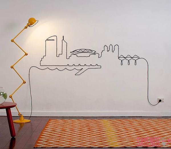 Creative DIY Ideas to Hide the Wires in the Wall Room