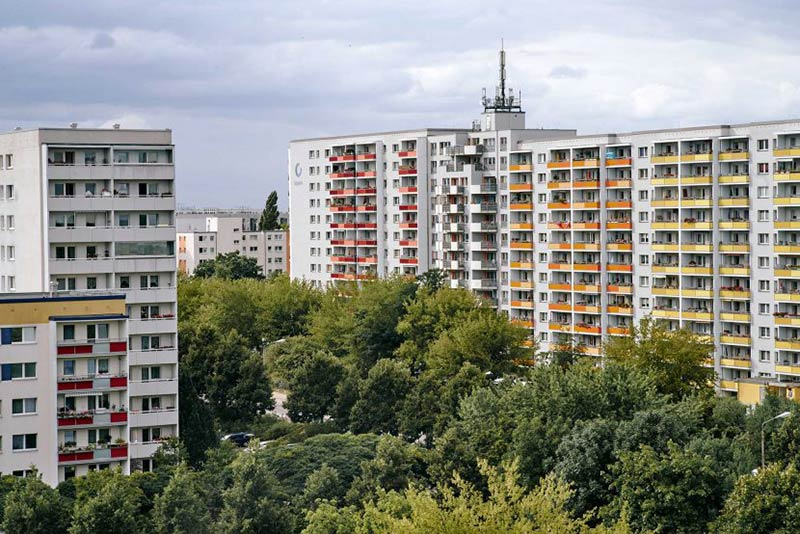 Berlin Marzahn: Social Housing With Marquis Hawkes