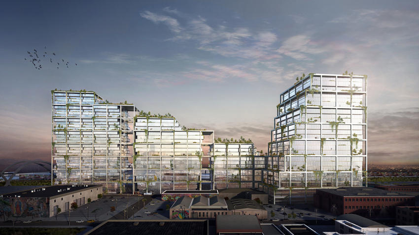 Huge Arts District development along L.A. River races for approval