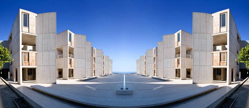 Louis Kahn's Salk Institute is aging — very, very gracefully