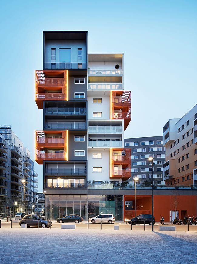 90 housing units in Saint-Ouen / Atelier du Pont