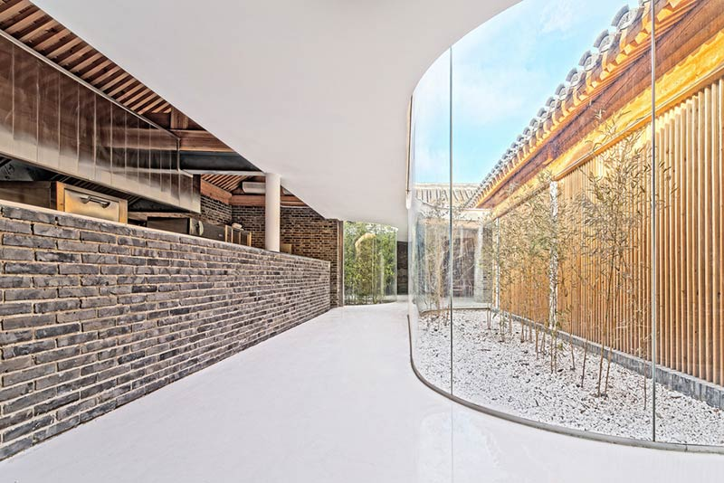 Tea House in Hutong / Arch Studio