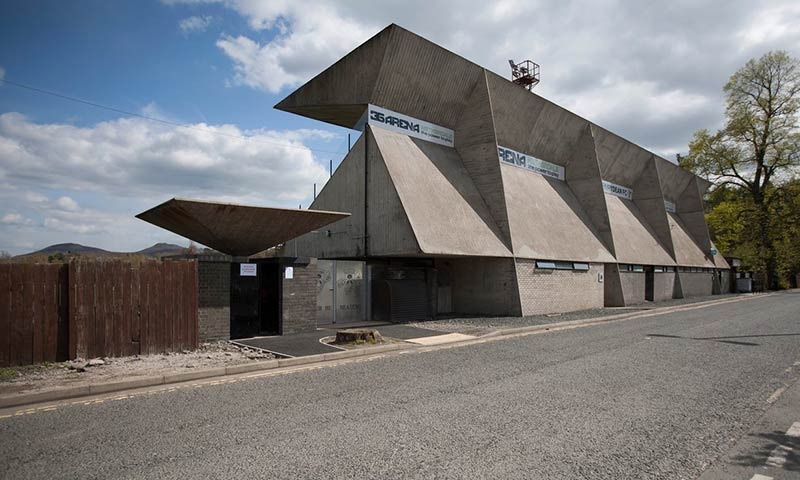 The 'miraculous' grandstand designed by Peter Womersley for Gala Fairydean Rovers FC in Galashiels