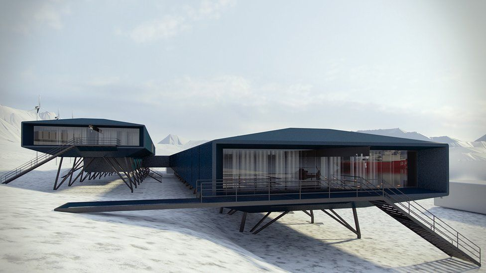 How Antarctic bases went from wooden huts to sci-fi chic