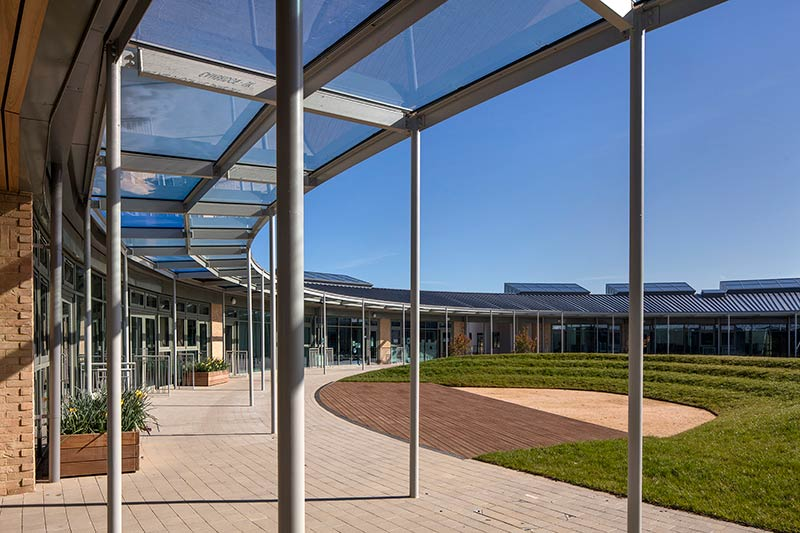 University of Cambridge Primary School by Marks Barfield Architects