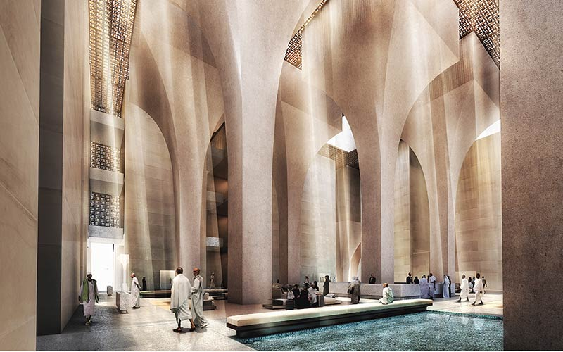 Foster + Partners wins Jabal Omar Development Project competition in Makkah, Saudi Arabia