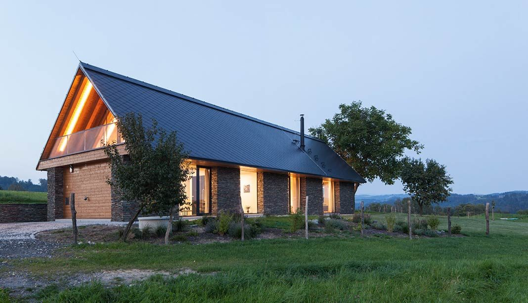 Family house near Železný Brod by ov architekti