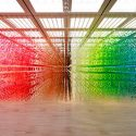 Forest of Numbers at The National Art Center, Tokyo by emmanuelle moureaux