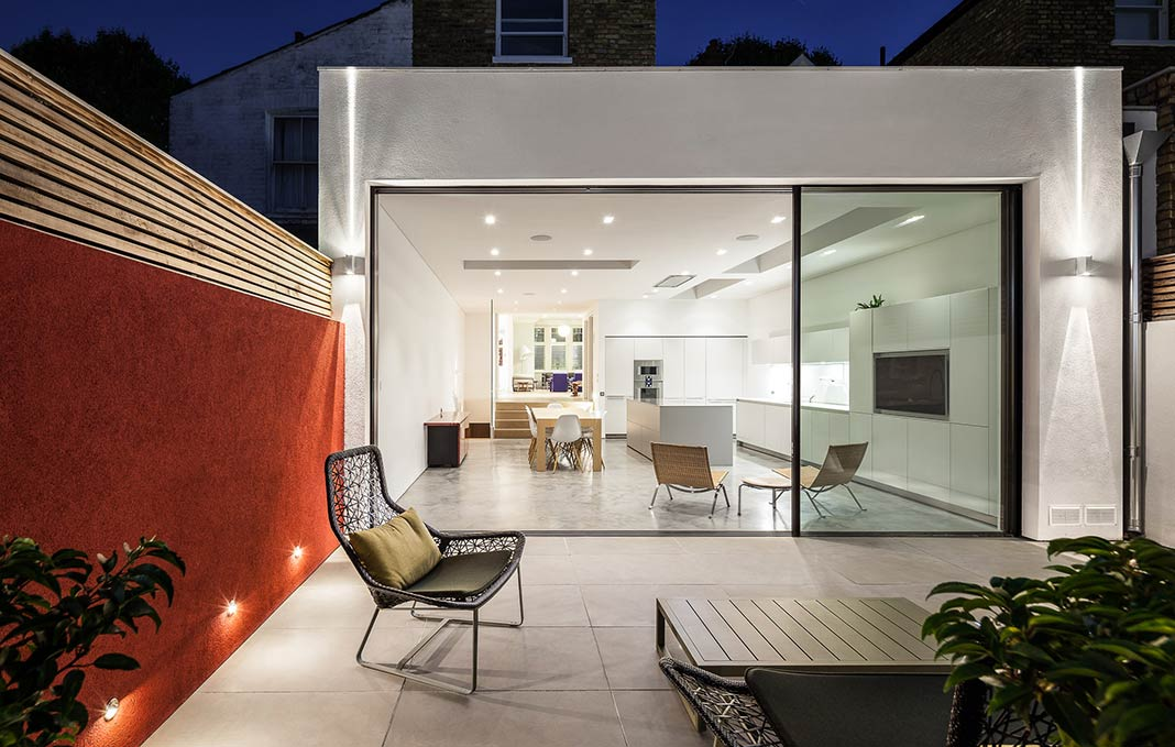 Chiswick House W4 / AU Architects