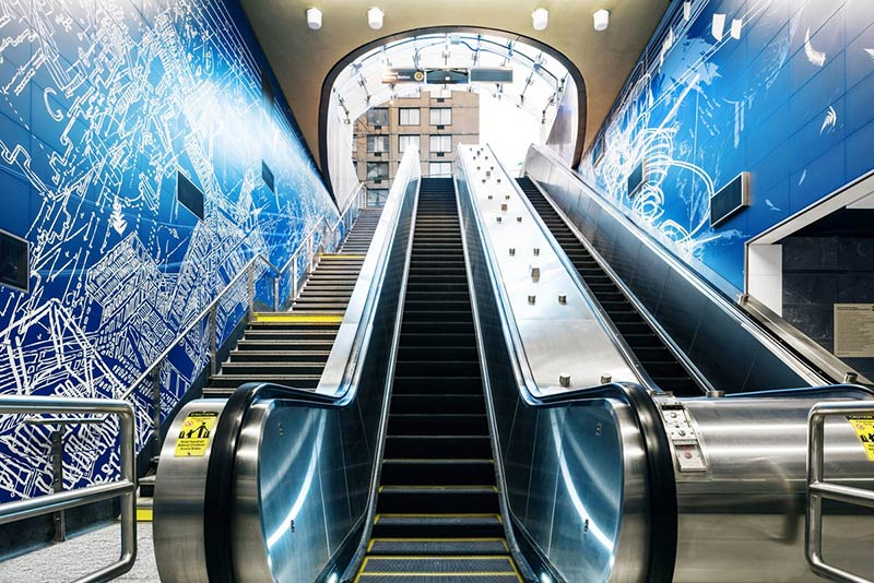 Step Into the Comfiness of NYC's 2nd Ave. Subway