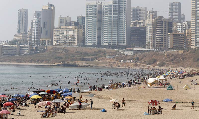Beirut's last public beach: residents fear privatisation of Ramlet al-Baida