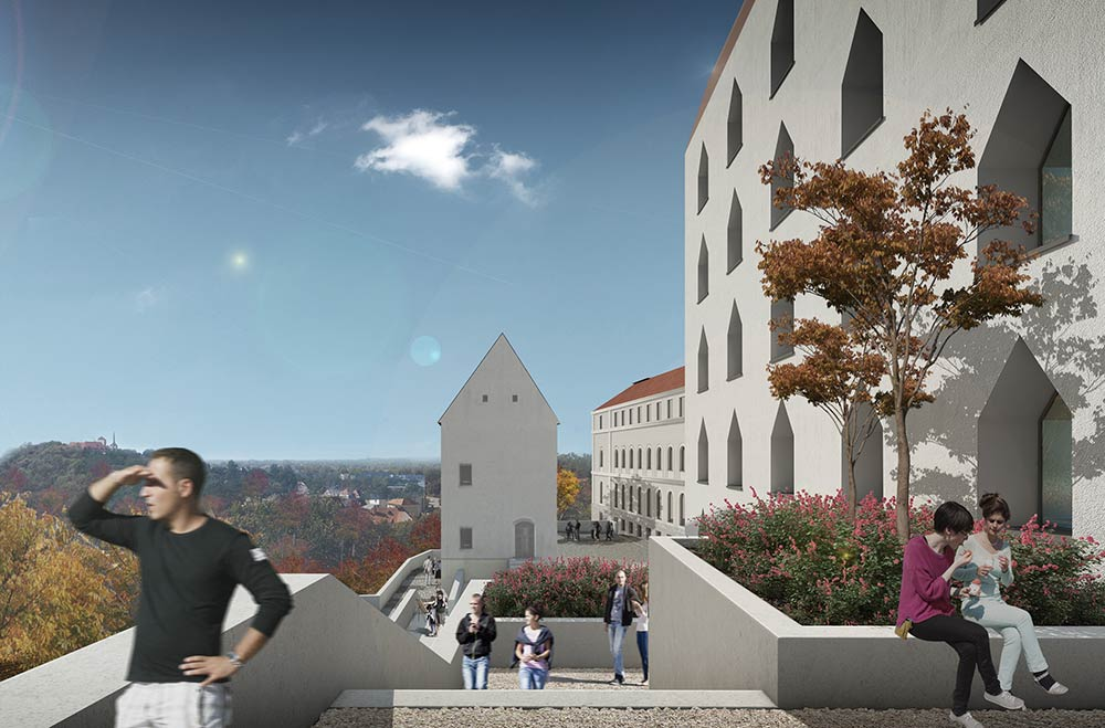 gmp wins competition for the Kardinal-Döpfner-Haus in Freising, Germany