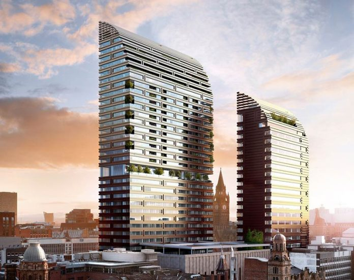 St Michael's development in Manchester designed by Make Architects