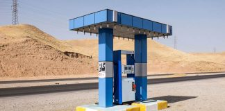 The Weird and Wonderful Gas Stations of Iraq