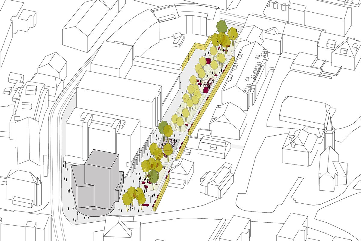 HHF Wins Competition for Tower Building in Biel, Switzerland