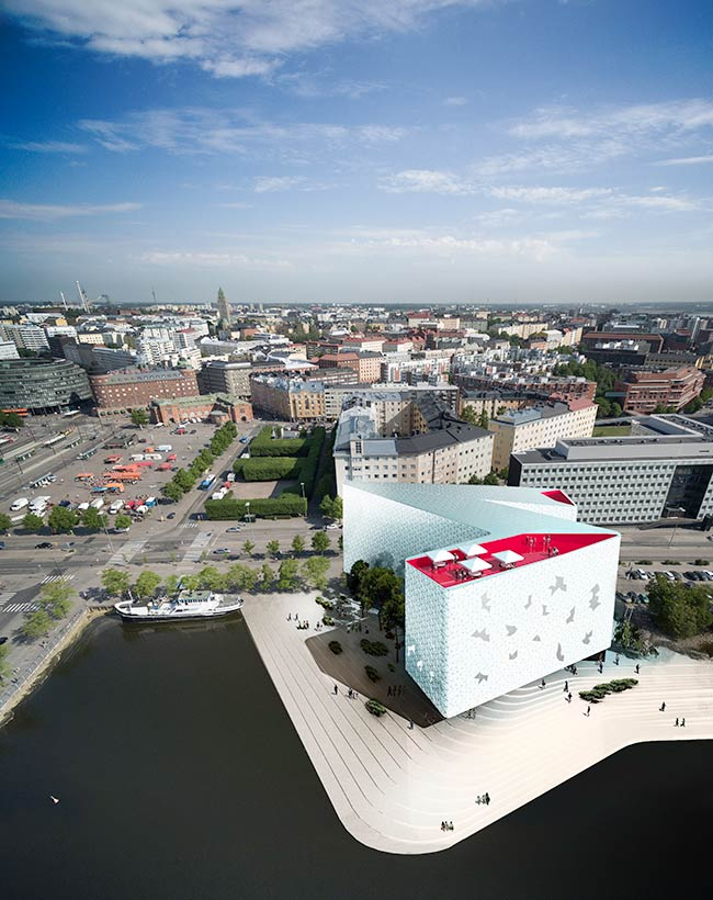 Snøhetta wins competition for new Helsinki hotel