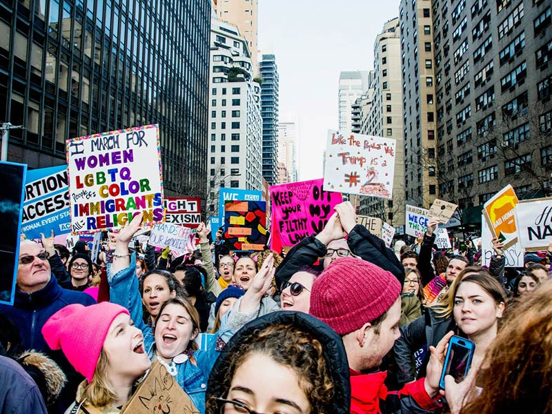 The secret to a happy, healthy city? Places for people to protest