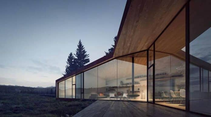 A design hothouse in the foothills of Alberta