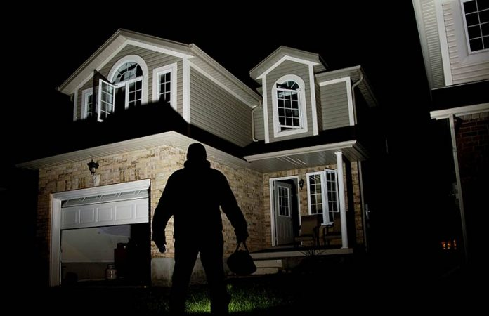 Burglary is on the rise