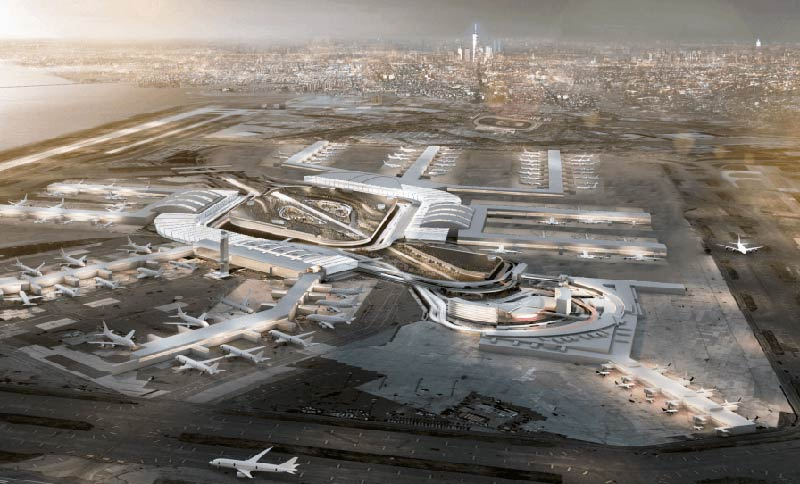 New York's Port Authority approved plan will include new bus terminal and airport upgrades
